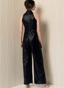Schnittmuster eleganter Overall Vogue 1506
