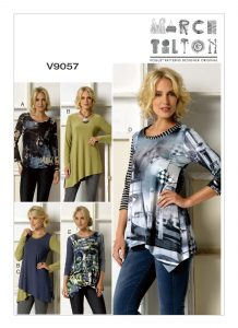 Marcy Tilton Schnittmuster Vogue 9057