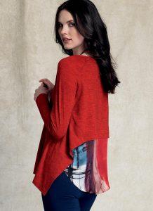 Marcy Tilton Schnittmuster Damenshirts Vogue 9207