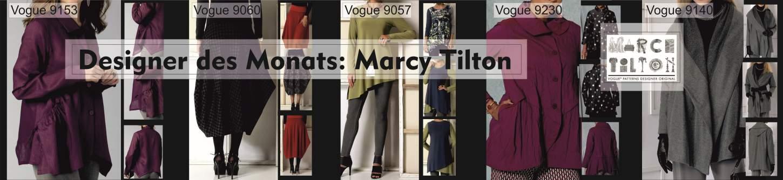Schnittmuster für Designermodelle von Marcy Tilton
